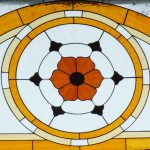 A zsinagóga egyik ablaka
