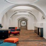 A Vasarely Múzeum előtere
