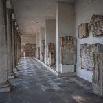 Aquincumi Múzeum Óbuda Kőtár folyosó