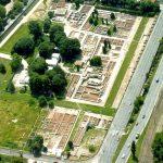 Aquincumi Múzeum Romkert légifelvétel