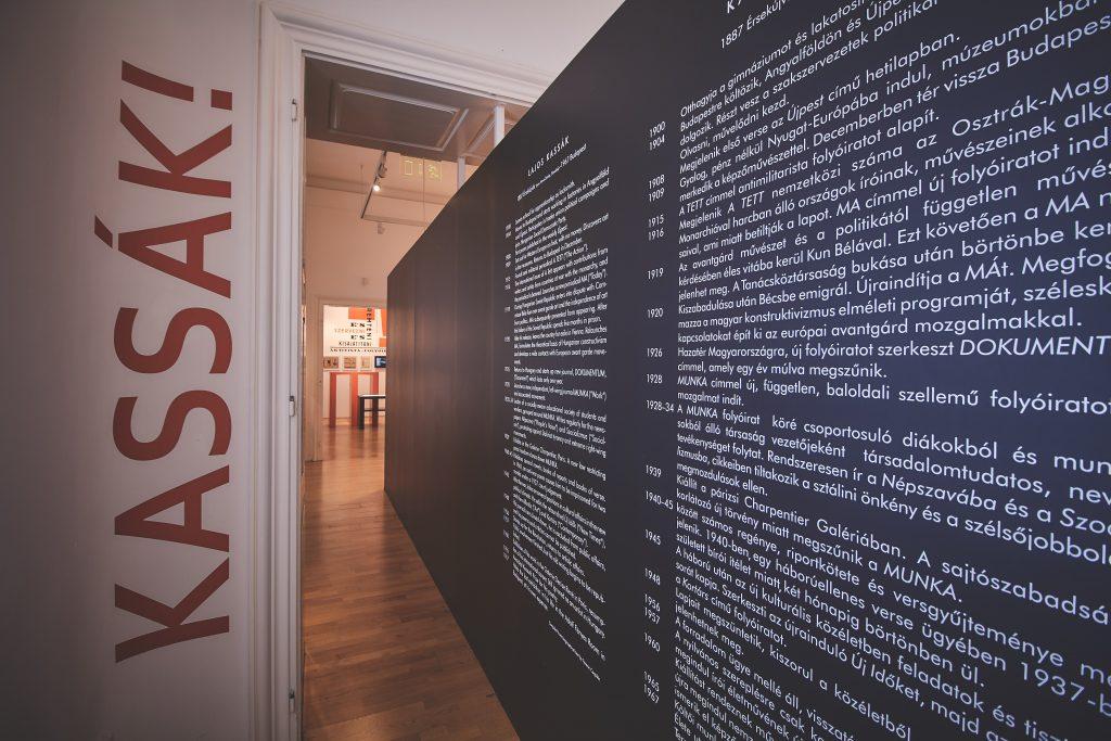 Kassák Múzeum állandó kiállítása