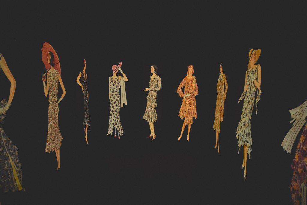 Goldberger Textilipari Gyűjtemény vetítőtér a múzeumban
