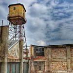 A régi Goldberger gyár épülete